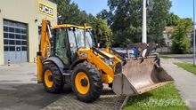 2011 JCB 4 CX backhoe loader