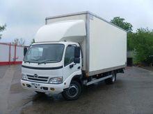 2012 HINO 3815 closed box truck