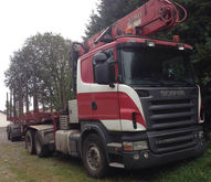 2005 SCANIA R500 V8 timber truc