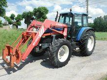 1996 HOLLAND 8160 wheel tractor