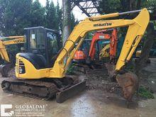2013 KOMATSU PC55 tracked excav