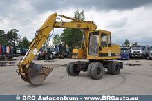 CATERPILLAR 206B FT wheel excav