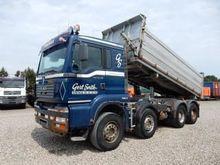 2004 MAN TGA 37.530 dump truck