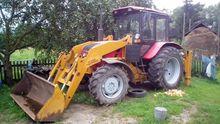 2012 MTZ Belarus 92P wheel trac