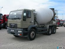 2003 MAN 26.285 concrete mixer
