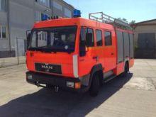 """1994 MAN HLF """"City"""" fire truck"""