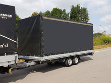 2009 UNSINN GTP 35 tilt trailer