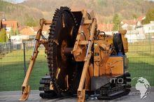 VERMEER Felsrad T600 trencher