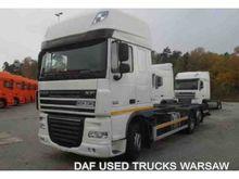 2013 DAF FAR XF105.460 containe