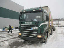 2002 SCANIA R 124, timber truck