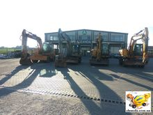 2008 CASE WX165 wheel excavator