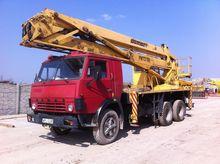 1994 KAMAZ 6x6 bucket truck