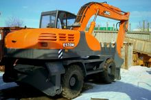 2015 TVEKS E170W tracked excava