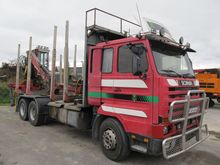 1995 SCANIA 143 timber truck +c