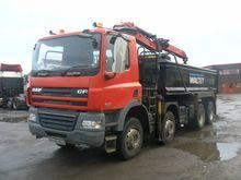2009 DAF CF 85.360 dump truck b