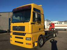 MAN TGA 26.440 chassis truck