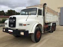 1983 MAN 32.281 dump truck