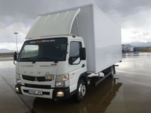 2013 FUSO 7C15 closed box truck