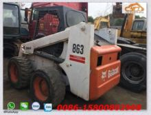 Used BOBCAT 863 skid