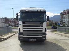 2001 SCANIA 124 420 tractor uni