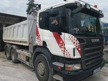 2005 SCANIA P420 dump truck