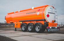2016 BONUM 28 fuel tank trailer