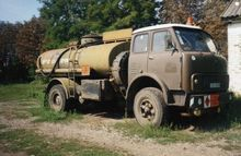 1987 MAZ 5334, aktivnyy fuel tr