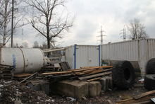 Used SOILMEC silo in