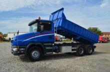 2002 SCANIA T124G dump truck