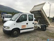2003 OPEL Movano dump truck