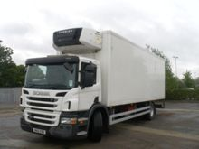 SCANIA P230 refrigerated truck