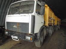2010 MAZ 551605 dump truck + ti