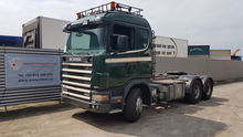 SCANIA 144-460 tractor unit by
