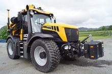 2013 JCB Fastrac med Hiab 18 t/