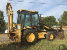 2002 CATERPILLAR 428D 2002 back