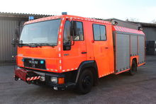MAN fire truck by auction