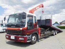 2003 ISUZU Giga flatbed truck