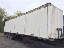 1988 TRAILOR closed box semi-tr