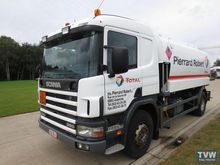 2002 SCANIA fuel truck