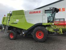 2013 CLAAS LEXION 660 combine-h