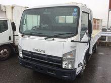 2012 ISUZU Elf flatbed truck