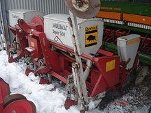 Eberhardt pneumatic seed drill