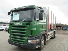 2008 SCANIA R420, timber trucks