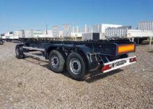 1998 LANGFELD chassis trailer