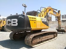 2012 JCB JS 220 tracked excavat
