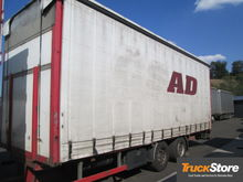 2008 PANAV TV18L tilt trailer