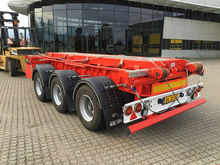 SAWO container chassis trailer
