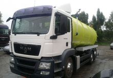 2008 MAN tgs chassis truck