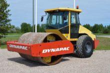 2008 DYNAPAC CA512D single drum