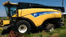 2011 HOLLAND CX8060 combine-har